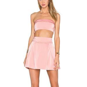 NWT NBD 2-piece bandeau & mini skirt w/ pockets!